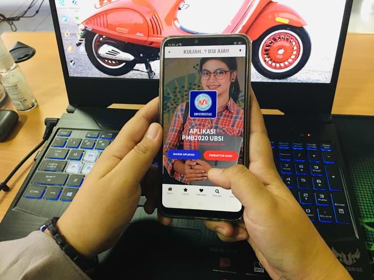 UBSI Beri Kemudahan Calon Mahasiswa, Daftar Kuliah Bisa Pakai Aplikasi Mobile