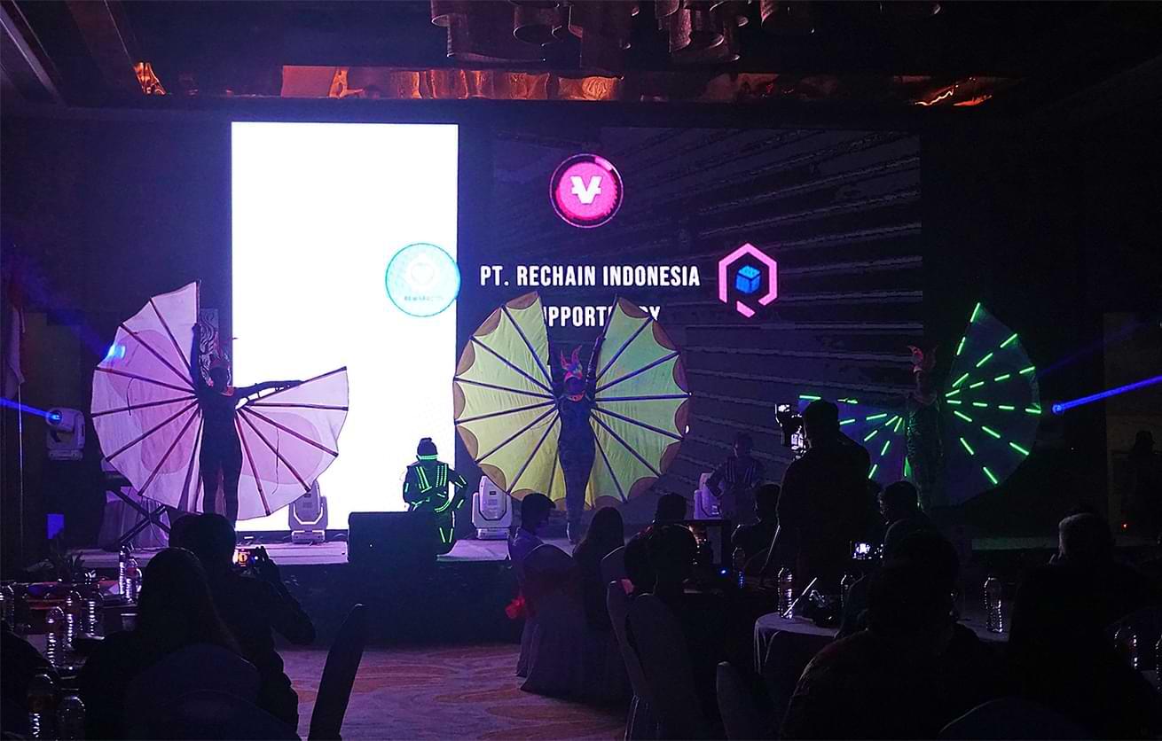Soft Opening Rechain Digital Indonesia - Vidy - Reward City