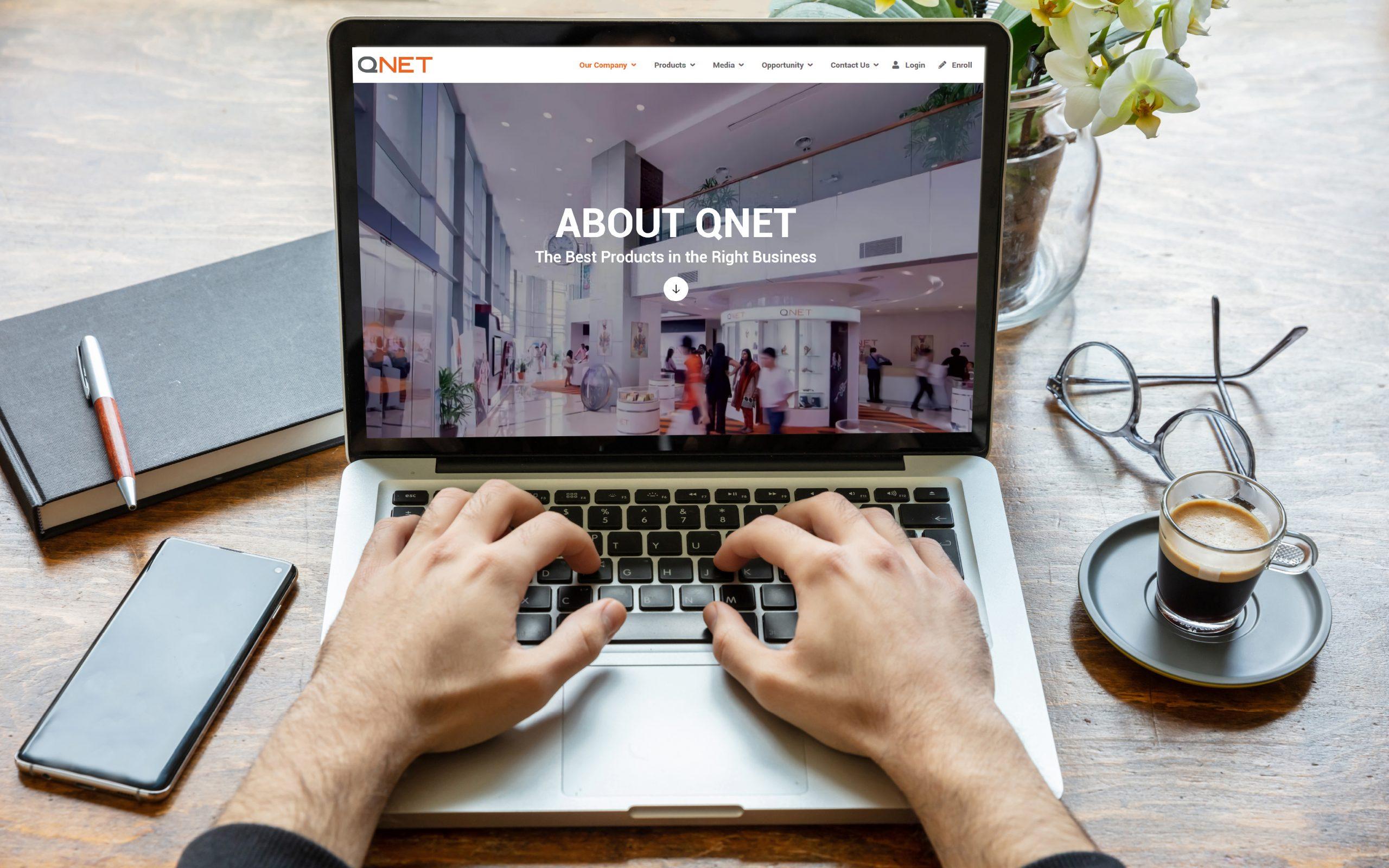 97. Perusahaan QNET