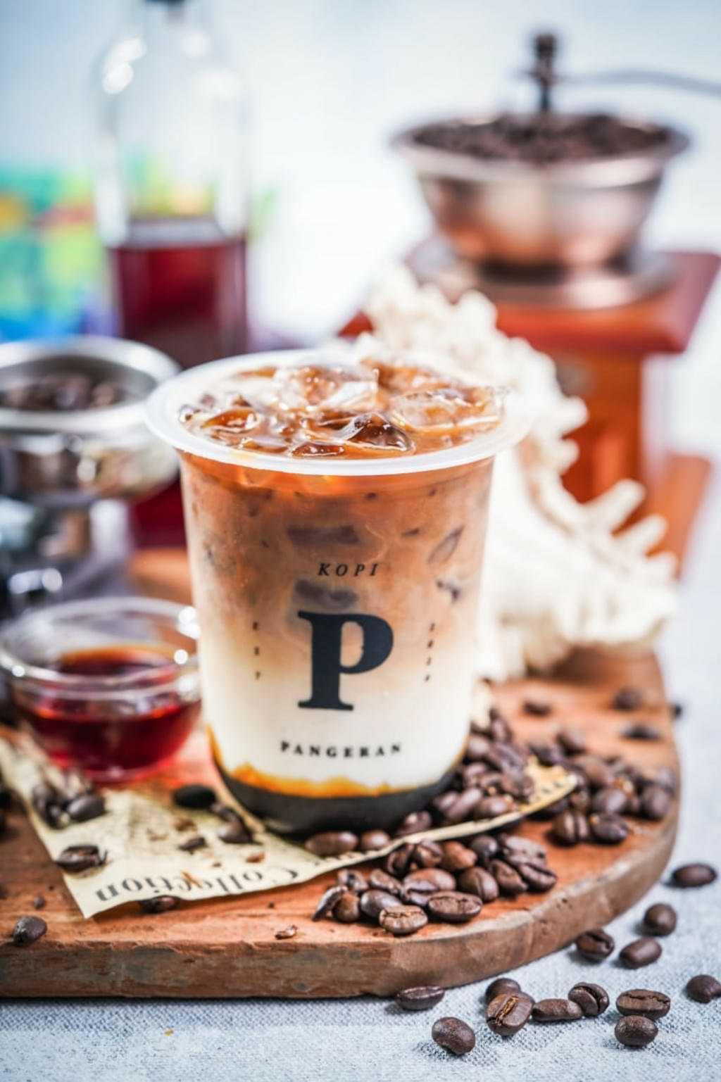 Kopi Pangeran, Es Kopi Susu Kekinian di Seminyak Bali 2